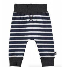 MOLO MOLO Pants Sammy Stripe Navy/Grey  W18