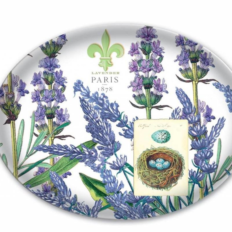 Michel Design Works Soap Dish Lavender Rosemary
