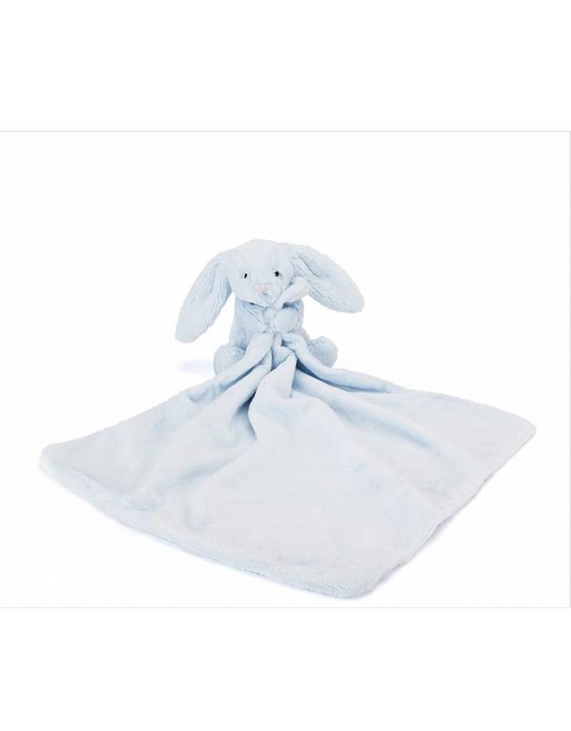 Jellycat JC bashful beau bunny soother Blue
