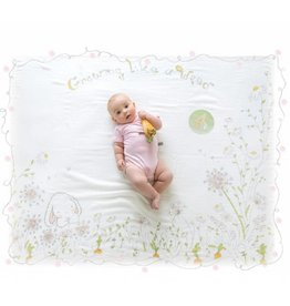 not tracked BB Milesstone Swaddle Blanket