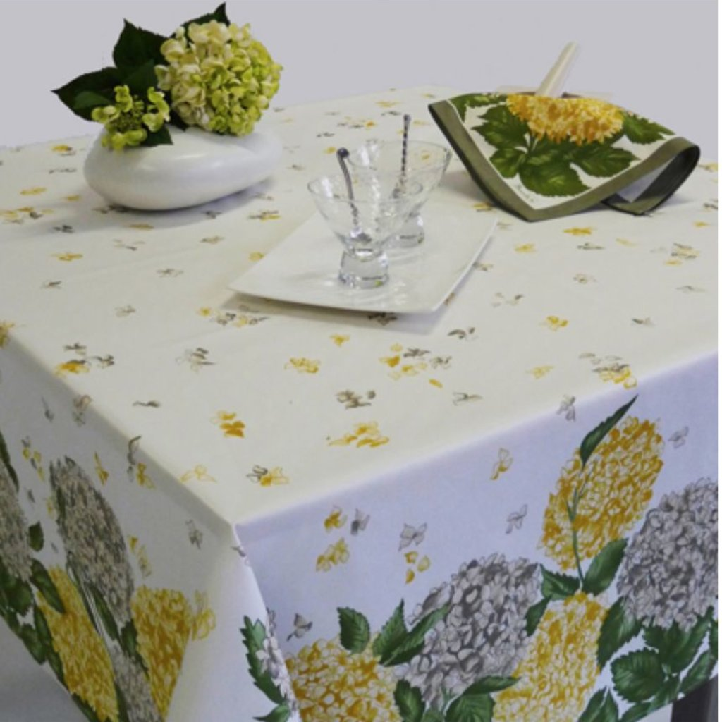 "Beauville Beauville Tablecloth Hortensia 67""x106"""