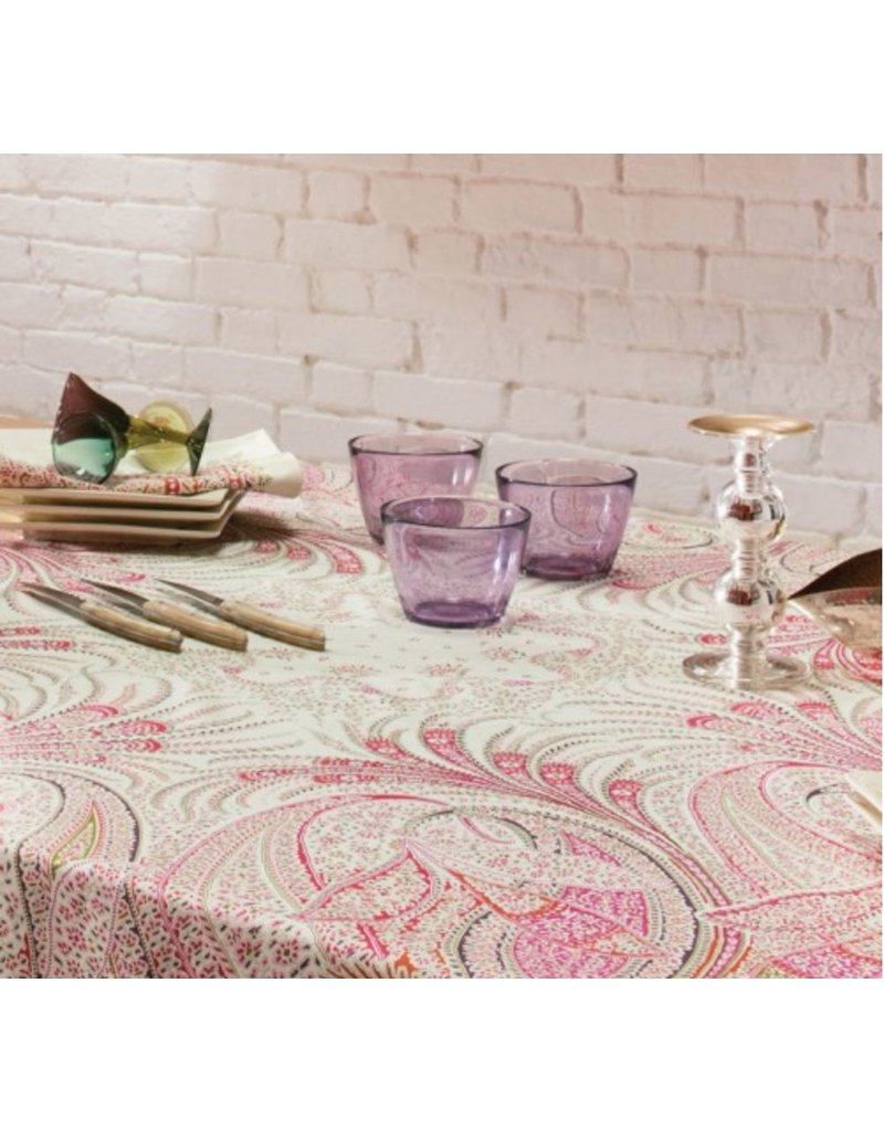 Beauville BV Tablecloth Ceylan Rose