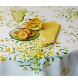 "Beauville BV Tablecloth Fleur de Lin 55""x102"""