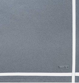 Beauville Beauville Napkin Grey White Stripe