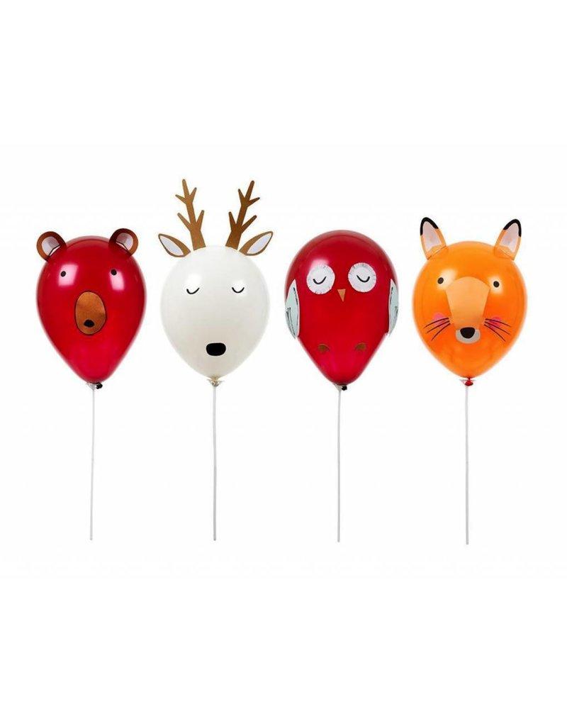 Meri Meri MERI Balloon Kit various Forest Animals