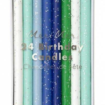 Meri Meri Meri Meri Birthday Candles S/24 Blue