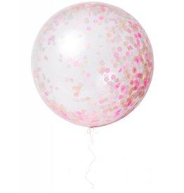 Meri Meri MERI Balloons Giant Confetti Pink