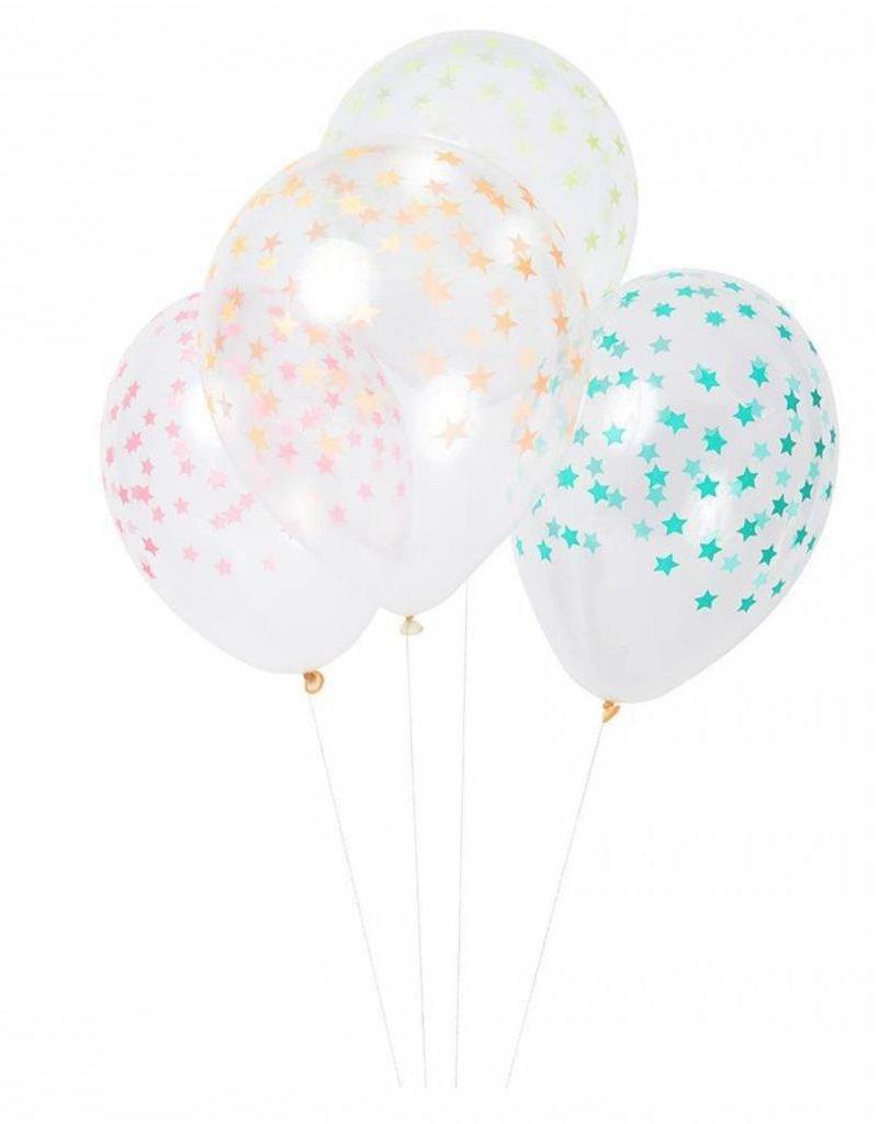 "Meri Meri Meri Meri  Balloons Mixed Star 8""x11"""