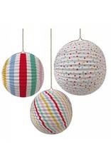 Meri Meri MERI Paper Globe 45-1332 spots/stripes