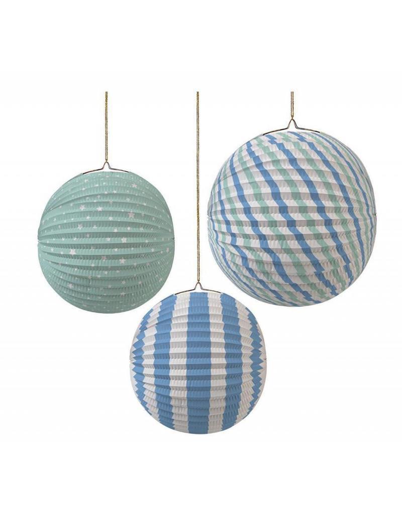 Meri Meri MERI Paper Globe 45-1331 blue/green