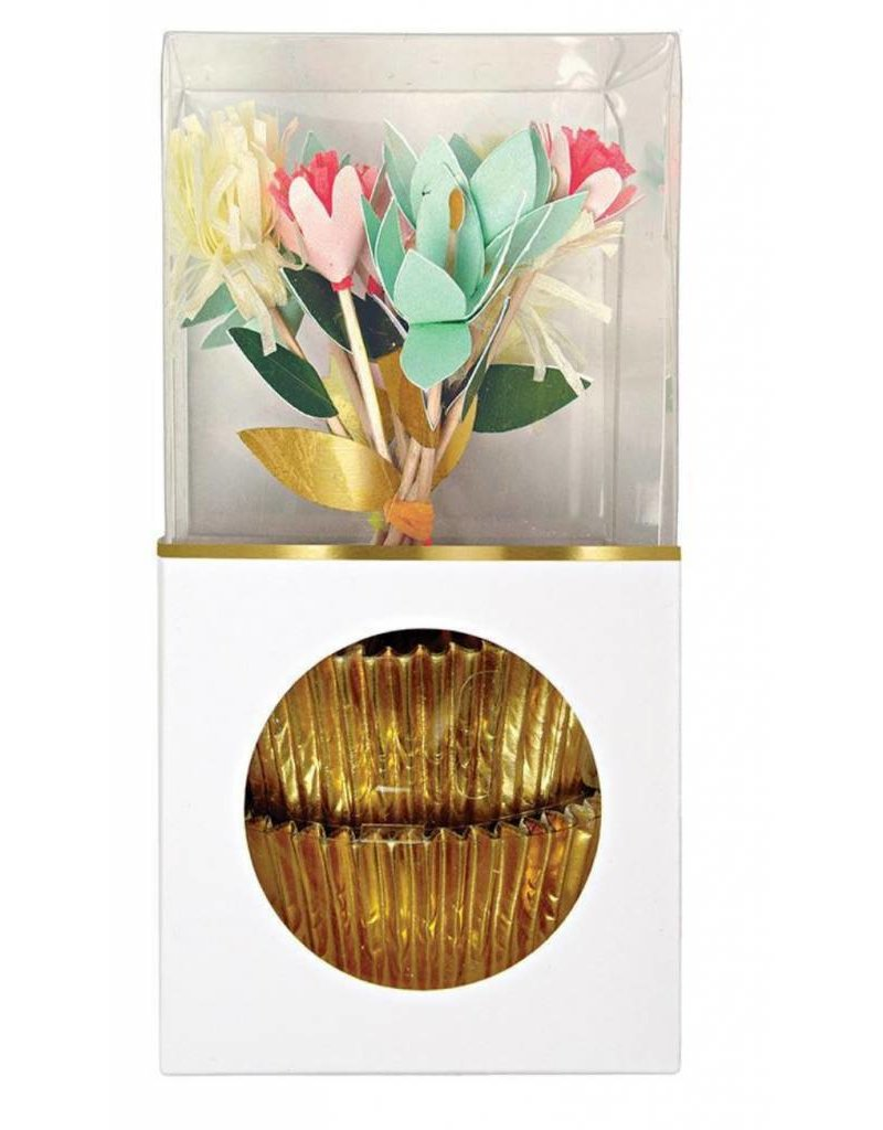 Meri Meri Meri Meri Flower Bouquet Cupcake Kit