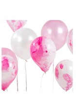 Talking Tables MaRBle Balloon 12pk Pink