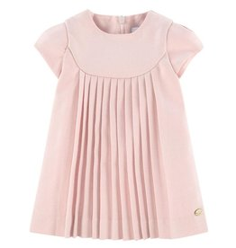 Tartine et Chocolat Tartine Dress Pink Pleats W18 TM30041