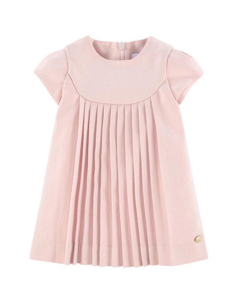 Tartine et Chocolat Tartine Dress Pink Pleats W18 TM30041