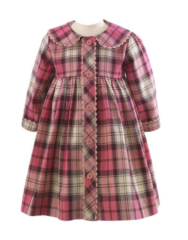 Rachel Riley Riley Pink Plaid Dress