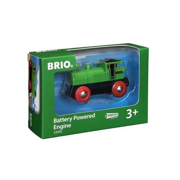 Brio Brio: Battery-Powered Engine