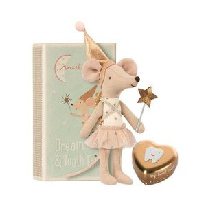 Maileg Maileg: Dream & Tooth Fairy Box-Sister