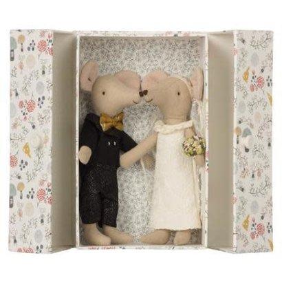 Maileg Maileg: Wedding Mice Couple in Box