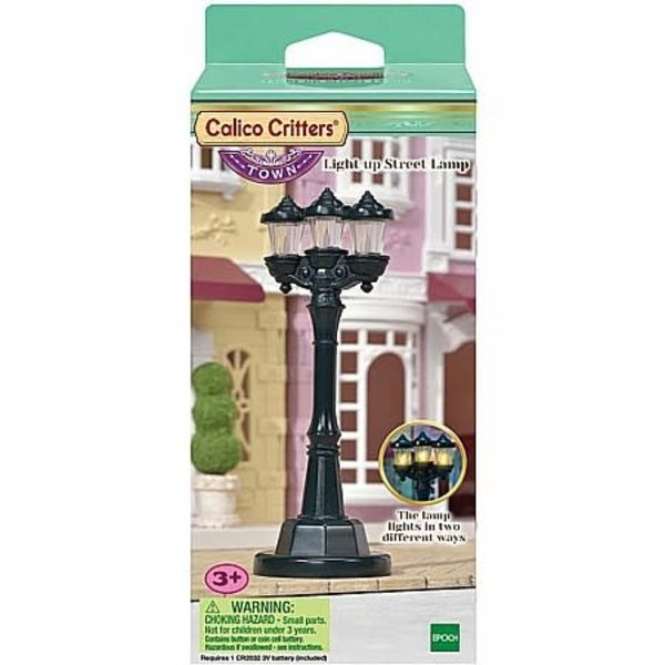Epoch Calico Critters: Light Up Street Lamp