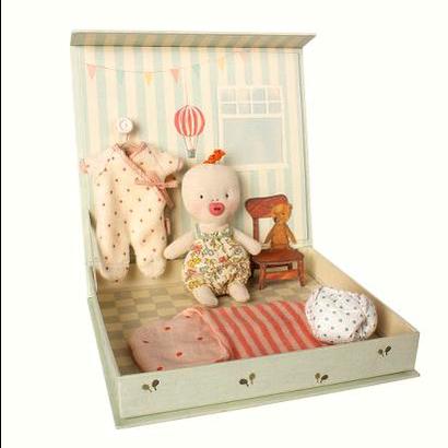 Maileg Maileg:  Ginger Baby Room Playset