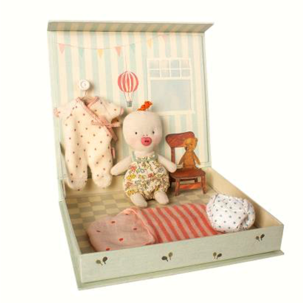 Maileg Maileg:  Ginger Baby Room Playset