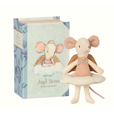 Maileg Maileg: Angel Mouse In Book