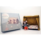 Maileg Maileg:Mouse Hiker with Tent & Flashlight