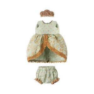 Maileg Maileg: Micro and Mouse Princess Dress, Mint