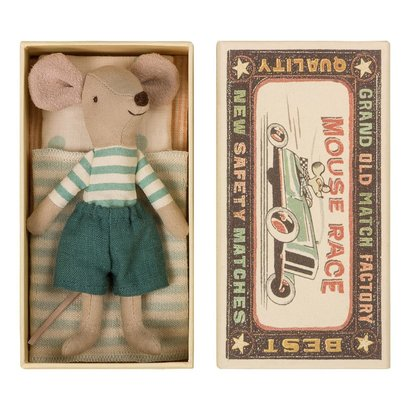 Maileg Maileg: Mouse in Box-Cousin