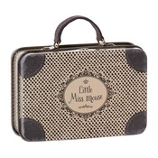 Maileg Maileg: Lil Miss Mouse Travel Suitcase: Only