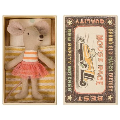 Maileg Maileg: Lil Sister Mouse in Box