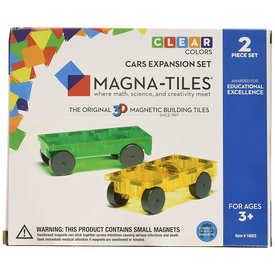 Magna-Tiles MAGNA-TILES: Cars 2 Pc Exp Set