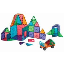 Magna-Tiles Magna-Tiles: Clear Colors 48 piece DX se