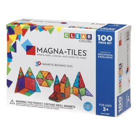 Magna-Tiles Magna-Tiles: Clear 100 pc