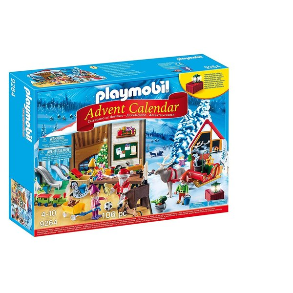 Playmobil Playmobil: Advent Calendar Santa's Workshop