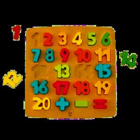 Hape Hape: Chunky Number Math Puzzle