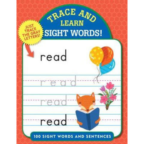 Peter Pauper: Trace and Learn Sight Words