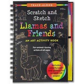 Peter Pauper Peter Pauper: Scratch & Sketch Llamas and Friends