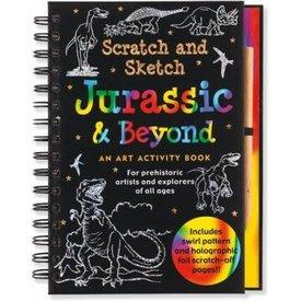 Peter Pauper Peter Pauper: Scratch & Sketch Jurassic and Beyond