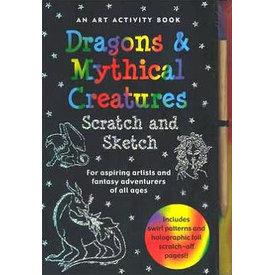 Peter Pauper Peter Pauper: Scratch & Sketch Dragons & Mythical creatures