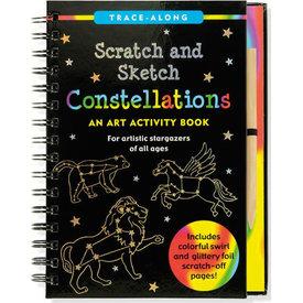 Peter Pauper Peter Pauper: Scratch & Sketch Constellations