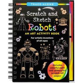 Peter Pauper Peter Pauper: Scratch & Sketch Robots