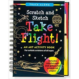 Peter Pauper Peter Pauper: Scratch & Sketch Take Flight