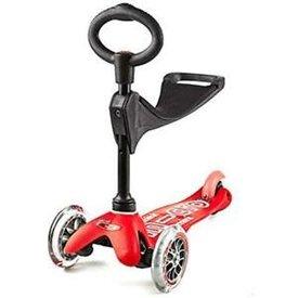 Micro Micro: 3 in 1 Mini Deluxe Red Scooter