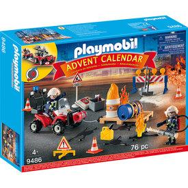 Playmobil Playmobil: Advent Calendar Construction Site Fire Rescue