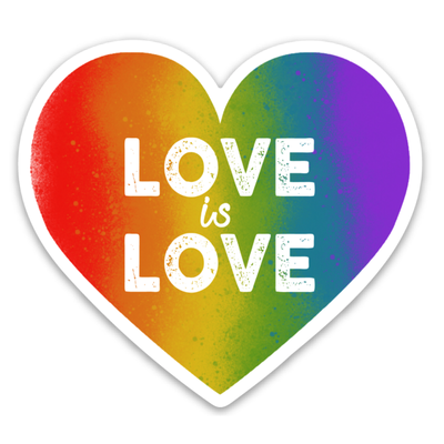 Well...This Is Awkward Love Is Love Sticker