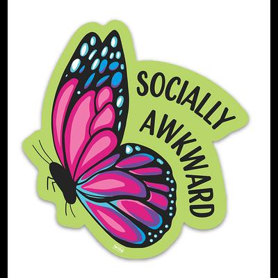 Well...This Is Awkward Socially Awkward Sticker