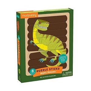 Chronicle Chronicle: Mighty Dinosaurs Puzzle Sticks