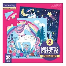 Hachette Chronicle: Magical Unicorn Magnetic Puzzle