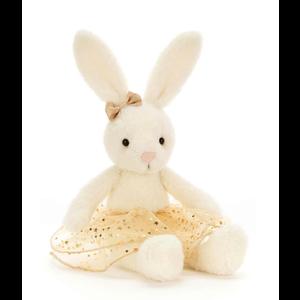 JellyCat JellyCat: Glistening Belle Bunny Medium